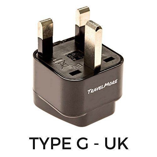 Uk Travel Adapter For Type G Plug Works With Electrical