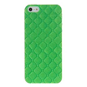 DUR Simple Design Grid Pattern Hard Case for iPhone 5/5S (Assorted Colors) , Pink