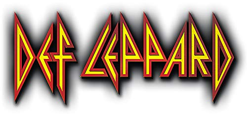Def Leppard Iron On Transfer for T-Shirts & Other Light Color Fabrics #1 (Rock Band Iron On Transfers For T Shirts)