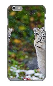 Charlesvenegas Durable Animal Snow Leopard Back Case/ Cover For Iphone 6 Plus For Christmas