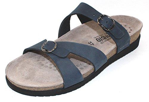 - Mephisto Women's Hannel Slide Sandal,Navy Sandalbuck,11 M US
