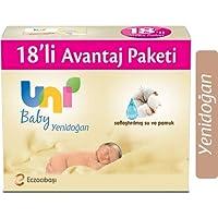 Uni Baby Yenidoğan Islak Mendil 18'li, 720 Yaprak