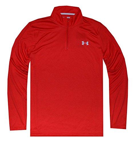 Under Armour Men's Ua Tech™ ¼ Quarter Zip Shirt Jacket (XL, Red)