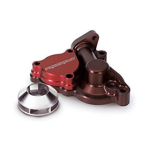 Pro Circuit Water Pump Cover - 04-09 Honda CRF250R: Pro Circuit Water Pump Cover with Impeller