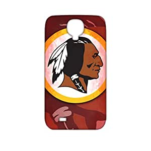 2015 Bestselling washington redskins logo Phone Case for Sumsung S4 Black