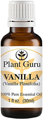 Vanilla Essential Oil. 30 ml. (1 oz) 100% Pure, Undiluted, Therapeutic Grade.