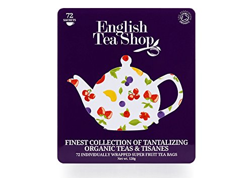English Tea Shop Assorted Super Fruits Gift Box, 72 Tea Bags by English Tea Shop (Image #2)