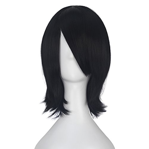 Unisex Short Straight Wave Adult Kids Halloween Party Wig Lolita Costume Cosplay Wigs -