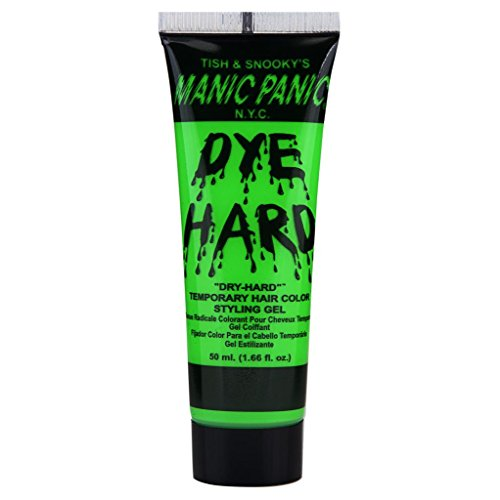 C PANIC N.Y.C. Electric Lizard DYE HARD Temporary Hair Color Styling Gel ()