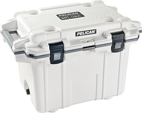 Cooler Cabelas (Pelican Elite 50 Quart Cooler (White/Grey))