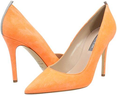 Sjp Con Scarpe Sarah Suede Jessica By Fawn Arancione Orange Parker Donna Tacco creamsicle rxwCanrq