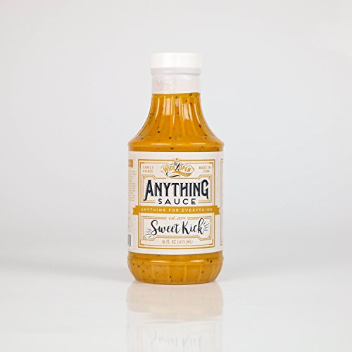 Sweet Kick Anything Sauce; Vegan Gluten-Free No High-fructos