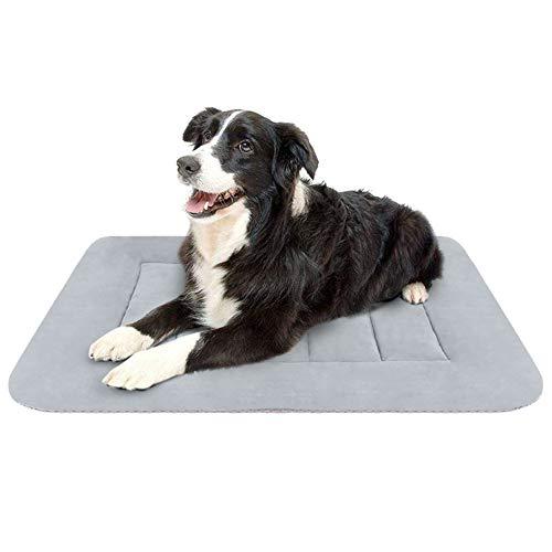 - Hero Dog Medium Dog Bed Crate Pad Mat 35 Inch Washable Matteress Anti Slip Cushion for Pets Sleeping
