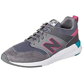 New Balance Women's 009 V1 Sneaker, Castlerock/Magnet/Carnival, 5 W US