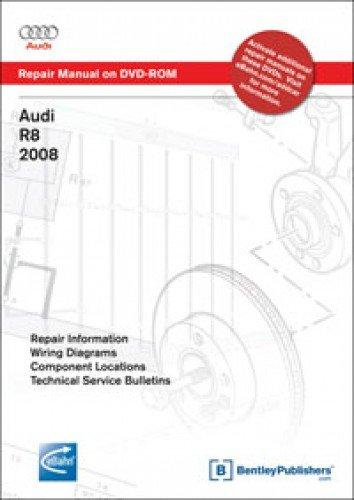 A427 Audi R8 2008-2009 Repair Manual on DVD-ROM