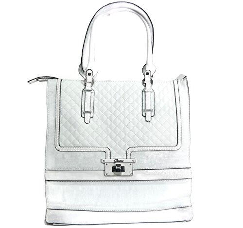 Guess Seaside Tote Handbag White, VY332724