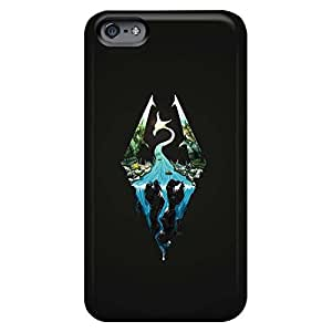 iphone 6plus 6p High-end mobile phone back case Hot Fashion Design Cases Covers case skyrim artwork