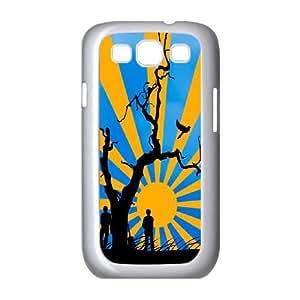 Samsung Galaxy S3 9300 Cell Phone Case White Sun Vector SUX_168942