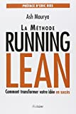img - for La m thode Running Lean book / textbook / text book
