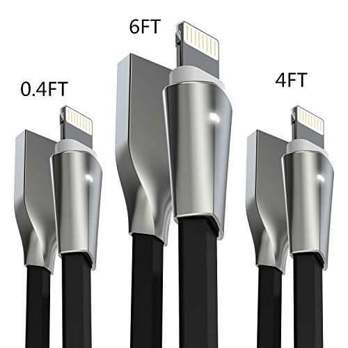 iphone 5c charger cord black - 4