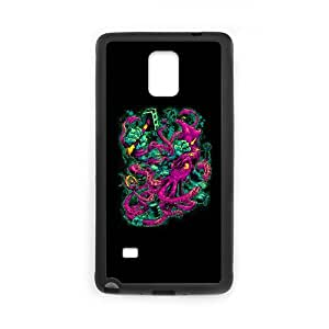 Samsung Galaxy Note 4 Cell Phone Case Black GORILLA VS. ARCHITEUTHIS Plastic Unique Cell Phone Case VYF