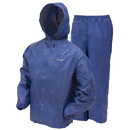 Frogg Toggs Ultra-lite2 Rain Suit W/stuff Sack - Medium, Blue ()
