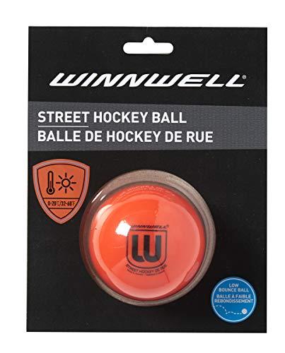 Orange Low Bounce 65MM Street Hockey Ball Medium for Warm Weather