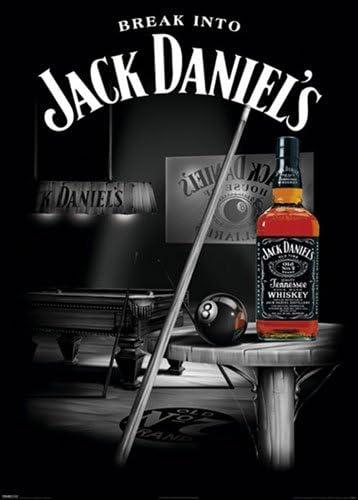 Jack Daniels - Póster de tamaño gigante XXL (snooker/de billar ...