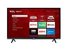 32 Inch class HD Roku Smart TV. Roku TV personalized home screen. Dual band 802.11n wireless. 3 HDMI inputs, analog video input, USB port, digital and analog audio output. Digital television tuner. 1080P resolution. 60Hz CMI. The power consum...