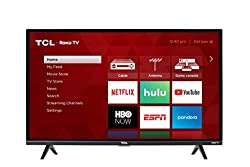 32 Inch class HD Roku Smart TV. Roku TV personalized home screen. Dual band 802.11n wireless. 3 HDMI inputs, analog video input, USB port, digital and analog audio output. Digital television tuner. 1080P resolution. 60Hz CMI.