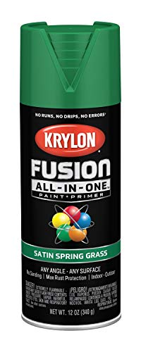 (Krylon K02751007 Fusion All-in-One Spray Paint, Spring Grass)