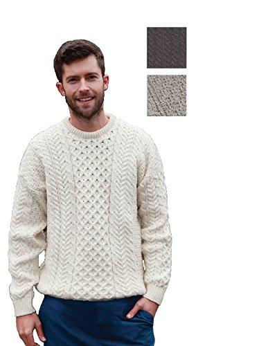 merino-wool-aran-sweater-bainin