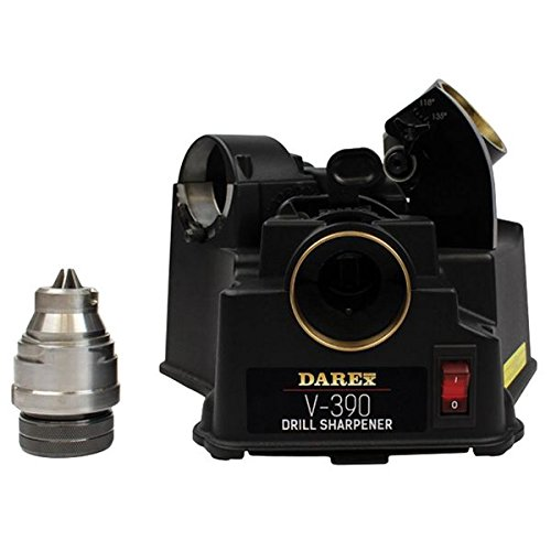 - DAREX Drill Bit Sharpener - Model : V390 Capacity: 1/8