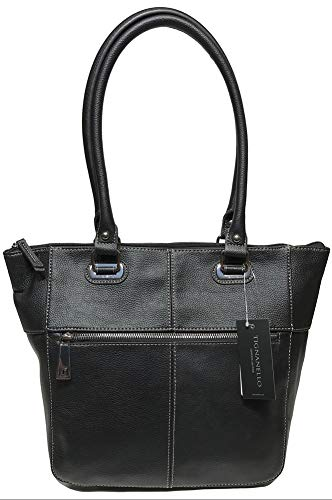 Tignanello Perfect Pockets Medium Tote, Black