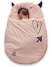 Bebamour Anti Kick Baby Sleeping Bag Safe Nights Cotton Baby Sleep Bag 2.5 Tog 0-18 Months and Above Cute Infant Boy Girls Sleeping Sack Baby Wrap Blanke
