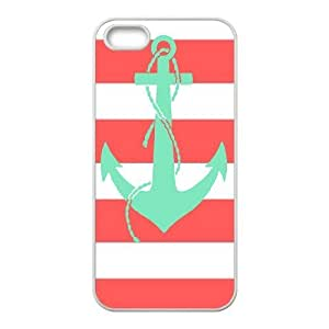 Coral Chevron ZLB550229 Unique Design Case for Iphone 5,5S, Iphone 5,5S Case
