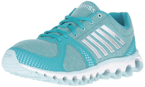 K-Swiss Women's X-160 Heather CMF Cross-Trainer Shoe, Lake Blue/Clearwater, 7.5 M US