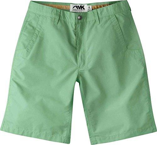 Mountain Khakis Men's Poplin Short Relaxed Fit, Sage, 40x8 - Mens Sage Khaki