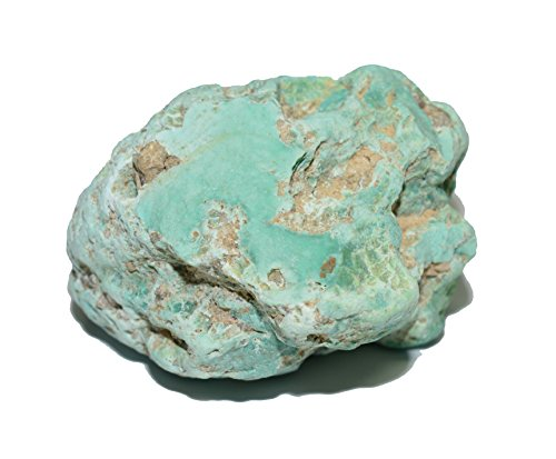 Turquoise Sleeping Beauty natural rough gemstone crystal Nugget 215 carat (Natural Green Turquoise Nugget Stones)