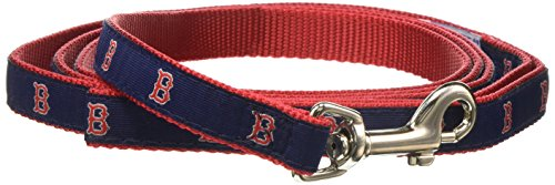 MLB Boston Red Sox Dog Leash, Small]()