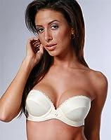 Low Plunge Bra STRAPLESS BRA Black underwear underwried bra
