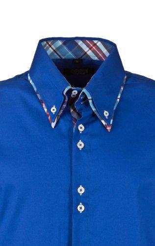 Carisma Herren Langarmhemd Hemd by Carisma Jeans 2012 Star MOD 9918 D.G