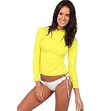 Ingear Ladies Rash Guard Long Sleeve Shirt Swimwear Made in USA