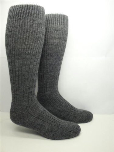 Military Heavy Wool Thermal Boot / Work Socks (2 Pairs) (XL (M 13-15 Shoe)) (Canadian Wool)