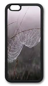 Cobweb Dew Fog Custom For Iphone 5/5S Case Cover Hard shell Black