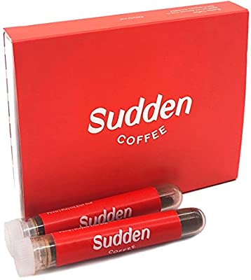 Sudden Coffee - Single Origin Instant Coffee (8 Count) - 100% Arabica Beans - Direct Trade - Small-Batched for Premium Quality - No Additives - Freeze Dried - Specialty Roasters - Pour Over Taste