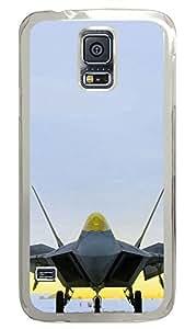 Samsung Galaxy S5 F 22 Raptor PC Custom Samsung Galaxy S5 Case Cover Transparent