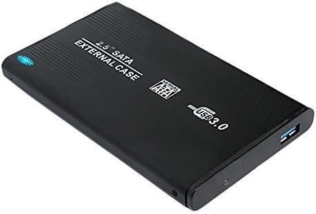 Heavy Duty 2,5 disco duro externo Enclosure para HDD/SSD SATA de 2 ...