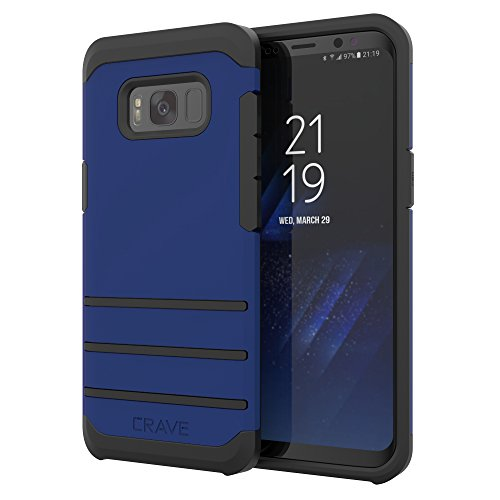 S8 Case, Crave Strong Guard Protection Series Case for Samsung Galaxy S8 - Navy