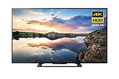 Sony KD50X690E 4K Ultra HD Smart LED TV (2017 Model) (Certified Refurbished)